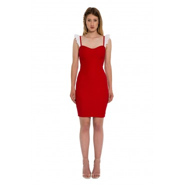 The Red Babydoll dress