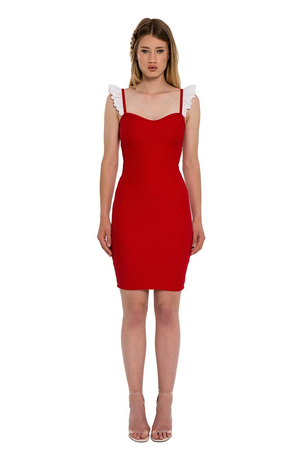 4e4fdc4ce4 La robe Rouge Babydoll. Loading zoom