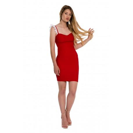 33a4480cf9 La robe Rouge Babydoll - Trente